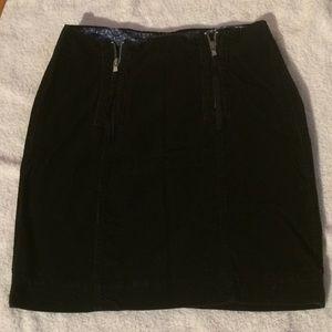Navy Corduroy Tommy Hilfiger Skirt - Size 4